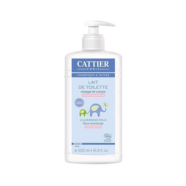 Cattier Bébé Lait de Toilette 500ml