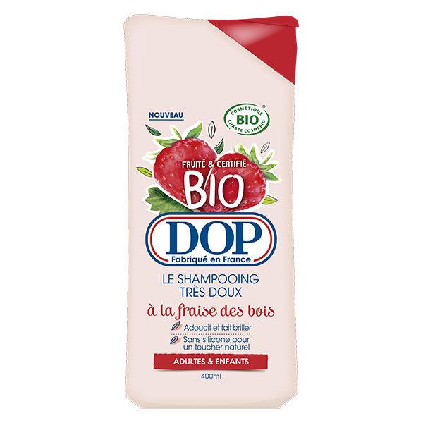 Dop Bio Shampooing Très Doux Bio à la Fraise des Bois 400ml