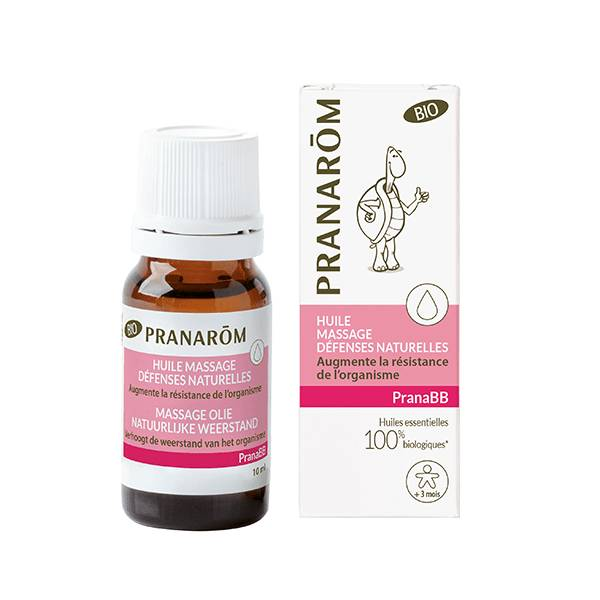 Pranarom PranaBb Huile de massage Immunité Bio 10ml