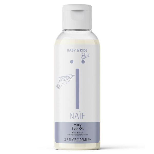 Naïf Baby & Kids Milky Huile de Bain Hydratante 100ml
