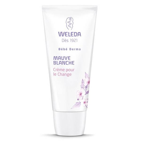 Weleda Bébé Mauve Blanche Crème pour le Change 50ml