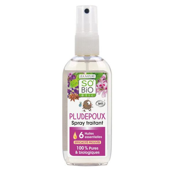 So Bio Etic So'Bio Etic Spray Traitant Pludepoux 6 Huiles Essentielles Biologiques 100ml