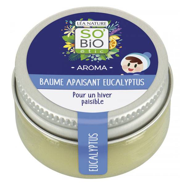 So'Bio Étic Aroma Baume Enfant Apaisant Eucalyptus 25g