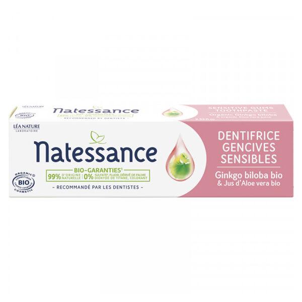 Natessance Dentifrice Gencives Sensibles Bio 75ml