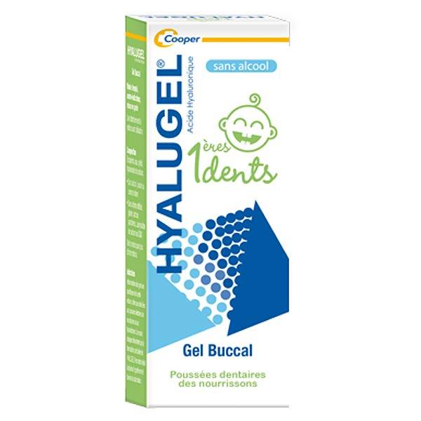 Hyalugel Gel Buccal 1eres Dents 20ml