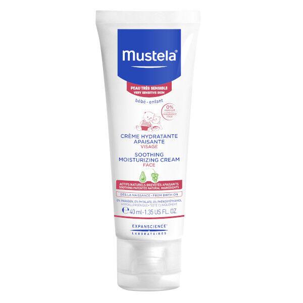 Mustela Crème Hydratante Apaisante Visage 40ml