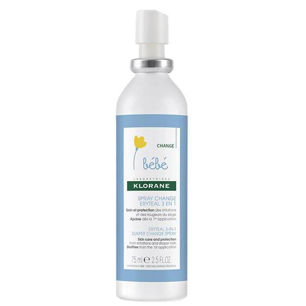 Klorane Bébé Spray Change Eryteal 3 en 1 75ml