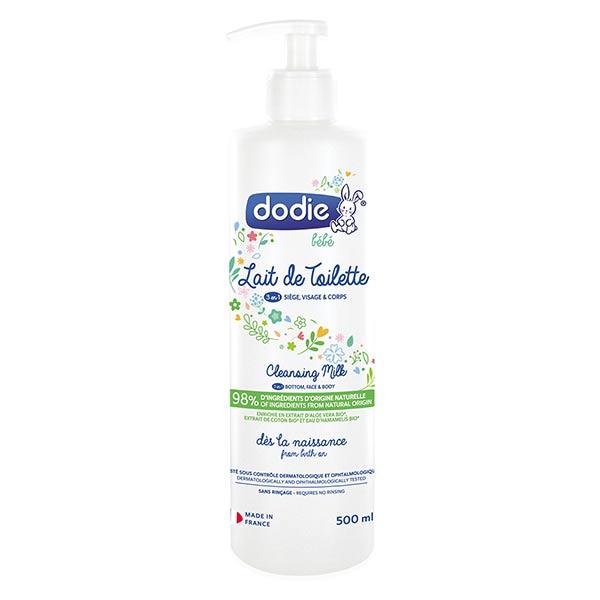 Dodie Hygiène & Soin Lait de Toilette 3 en 1 500ml