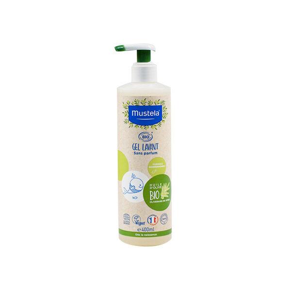 Mustela Gel Lavant Bio sans Parfum 400ml