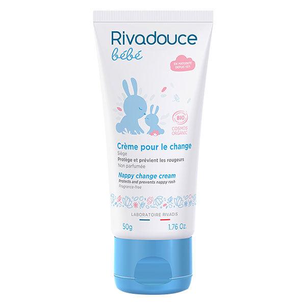 Rivadouce Bébé Bio Rivadouce Bébé Crème Pour Le Change Bio 50g
