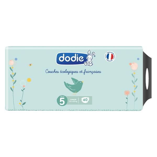 Dodie Couche Écologique Taille 5 40 couches