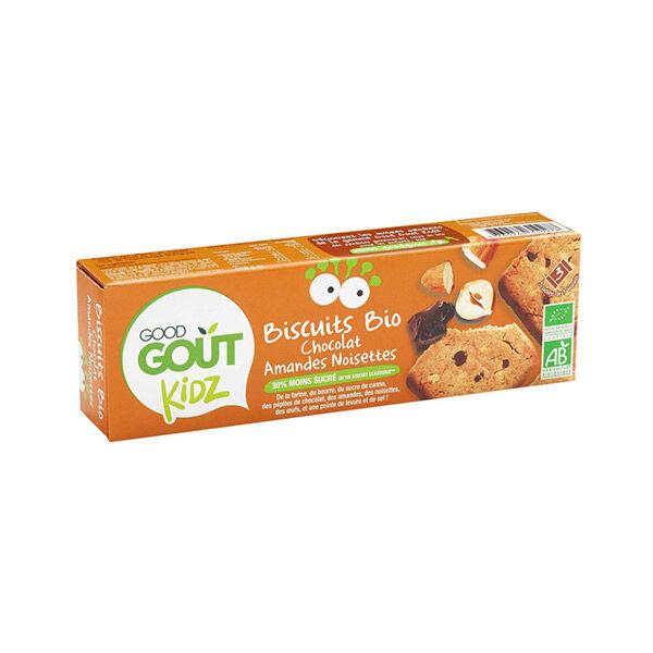 Good Goût Kidz Biscuits Chocolat Amandes Noisettes +3ans Bio Bio 110g