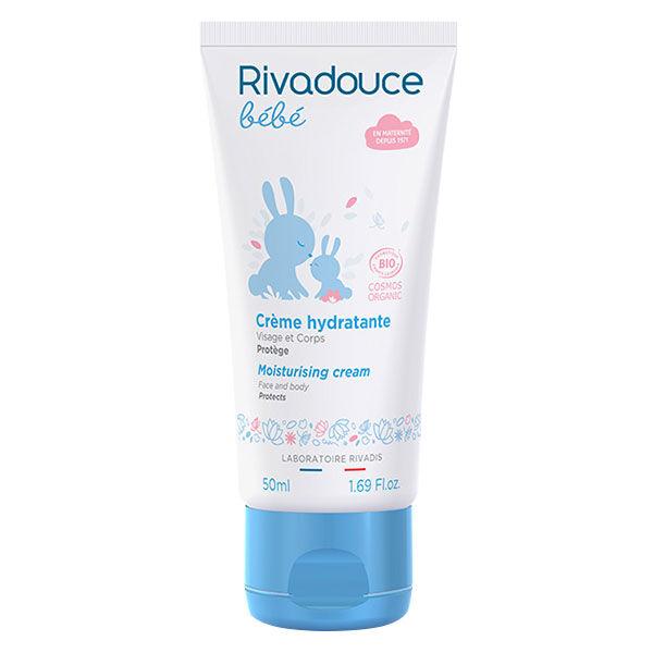 Rivadouce Bébé Bio Rivadouce Bébé Crème Hydratante Bio 50ml