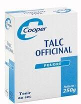 Cooper Talc Officinal 250g