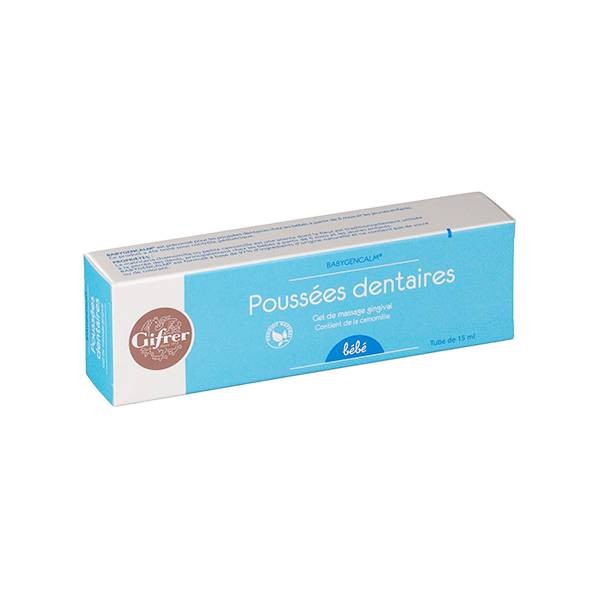 Gifrer Poussées Dentaires Gel de Massage Gingival 15ml