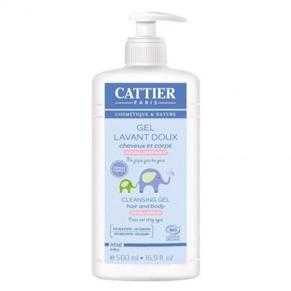 Cattier Bébé Gel Lavant Doux 500ml