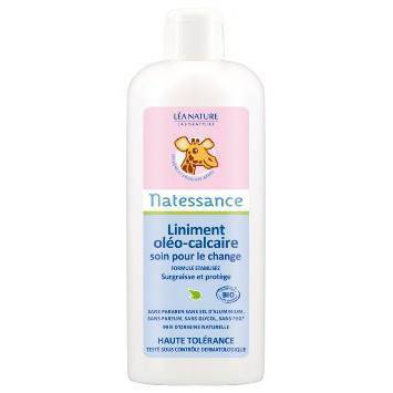 Natessance Bébé bio liniment oléo-calcaire 1 l