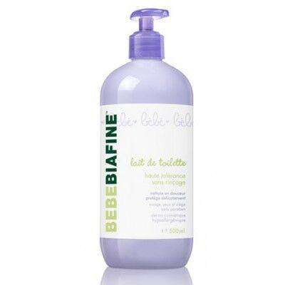 Biafine BébéBiafine Lait de Toilette Haute Tolérance Sans Rinçage 500ml