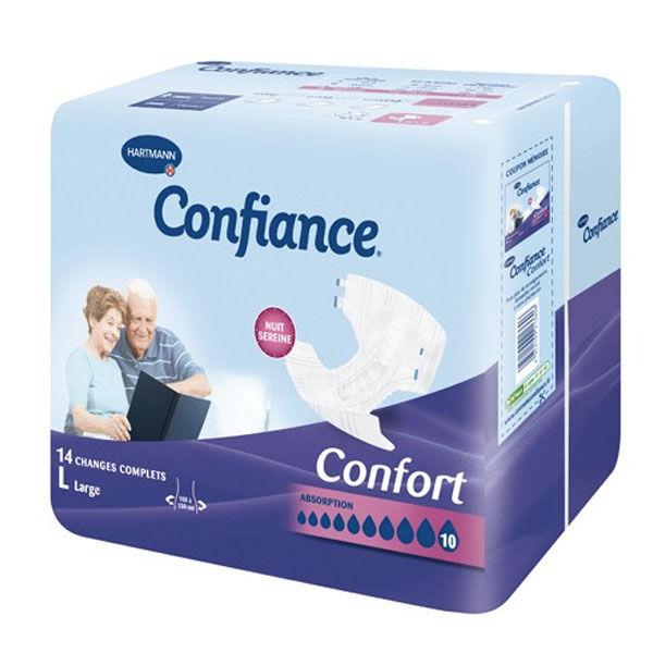 Hartmann Confiance Confort Absorption 10 Gouttes Taille L 14 changes complets