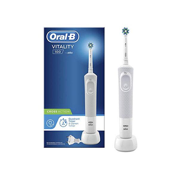 Oral B Brosse à Dents Electrique Vitality 100 Cross Action