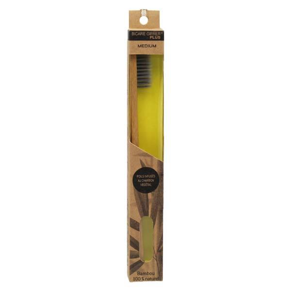 Gifrer Bicare Plus Brosse à Dents Bambou Médium