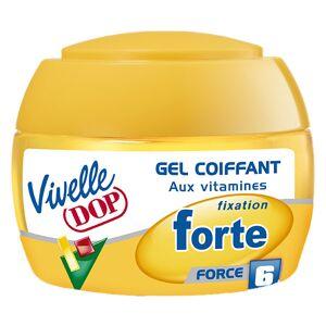 Dop Vivelle Dop Gel Coiffant aux Vitamines Fixation Forte Force 6 150ml - Publicité
