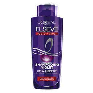 L'Oréal Paris L'Oréal Elsève Color-Vive Shampooing Violet Déjaunisseur 200ml - Publicité