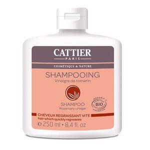 Cattier Shampooing Vinaigre de Romarin Cheveux Regraissant Vite 250ml - Publicité