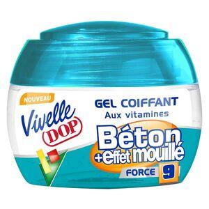 Dop Vivelle Dop Gel Coiffant aux Vitamines Fixation Béton et Effet Mouillé Force 9 150ml - Publicité