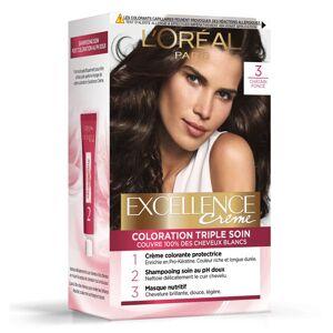 L'Oréal Paris L'Oréal Excellence Coloration Châtain Foncé 3 - Publicité