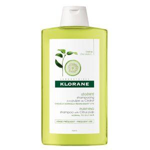 Klorane Shampooing à la Pulpe de Cédrat 400ml - Publicité