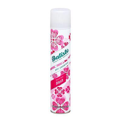 Batiste Shampooing Sec Blush 400ml est un shampooing sec qui vous permet d'absorber l'excès de sébum de vos cheveux et de retarder le lavage d'un jour grâce à la poudre d'amidon de riz.