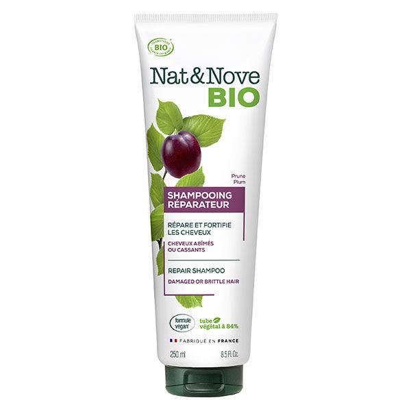 Nat&Nove Bio Nat&Nove; Bio Shampooing Réparateur Prune 250ml
