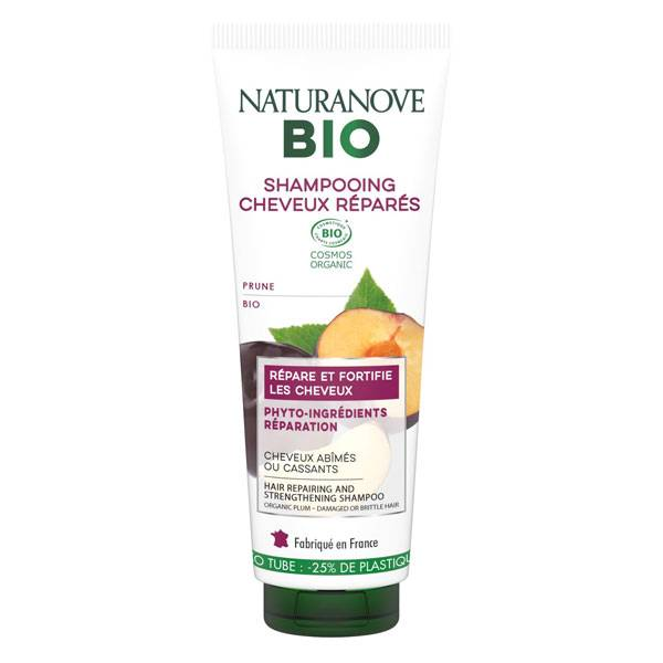 Naturanove Bio Shampooing Cheveux Réparés Prune 250ml