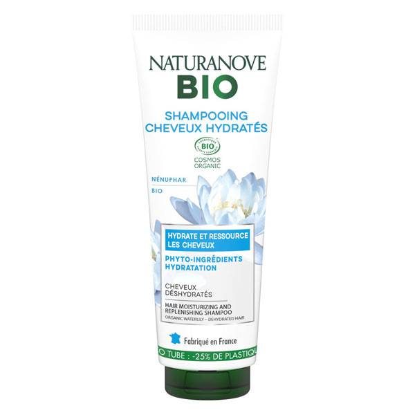 Kéranove Naturanove Bio Shampooing Cheveux Hydratés Nénuphar 250ml