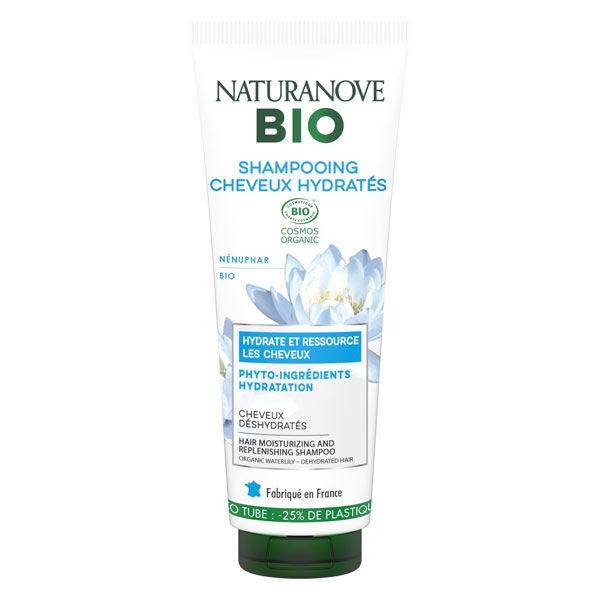 Naturanove Bio Shampooing Cheveux Hydratés Nénuphar 250ml