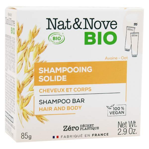 Nat&Nove Bio Nat&Nove; Bio Shampooing Solide Cheveux et Corps 85g