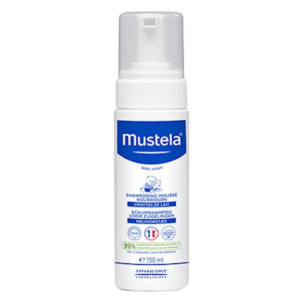 Mustela Shampooing Mousse Nourrisson 150ml
