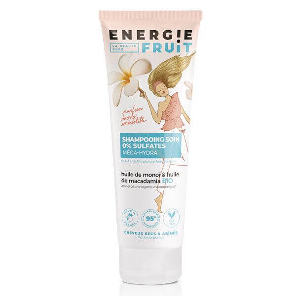 Energie Fruit Shampooing Sans Sulfates Monoi et Huile de Macadamia Bio Vegan 250ml