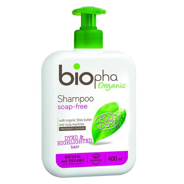 Biopha Organic Shampooing Cheveux Colorés Bio 400ml