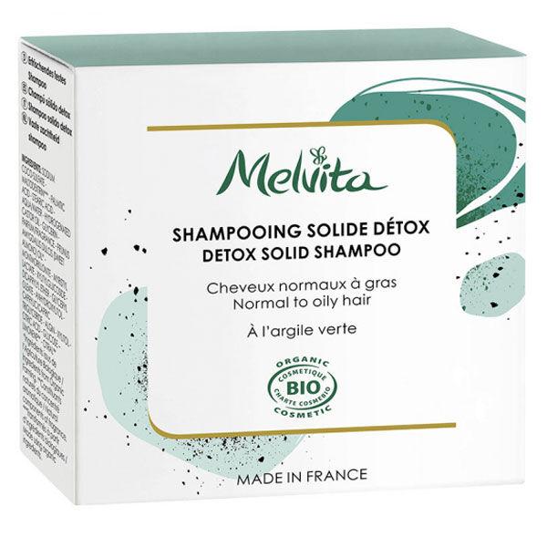 Melvita Shampooing Solide Détox Bio 55g
