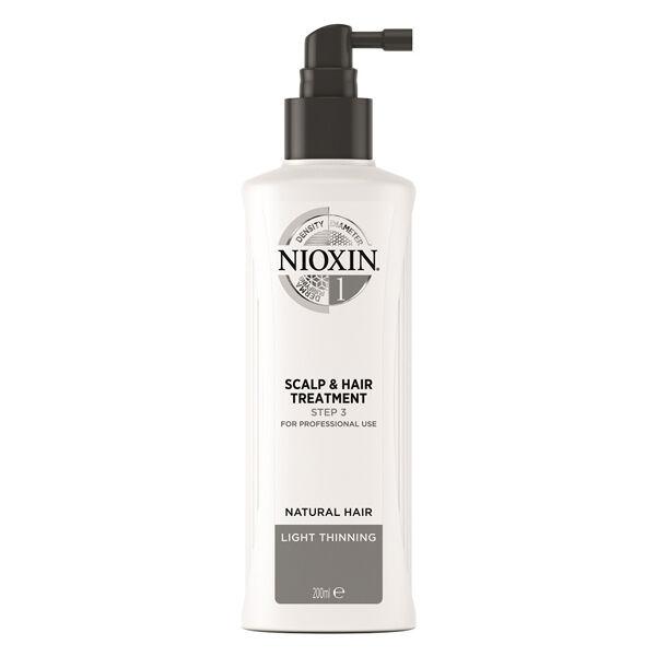 Nioxin Scalp & Hair Treatment System 1 Soin Cheveux Normaux à Fins et Naturels 100ml