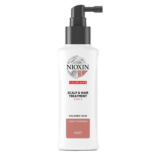 Nioxin Scalp & Hair Treatment System 3 Soin Cheveux Normaux à Fins et Colorés 100ml