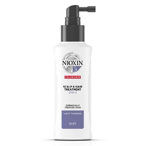Nioxin Scalp & Hair Treatment System 5 Soin Cheveux Normaux à Fins et Traités Chimiquement 100ml