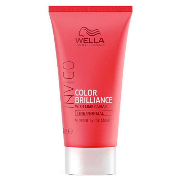 Wella Professionals Invigo Color Brillance Masque Cheveux Fins et Normaux 30ml