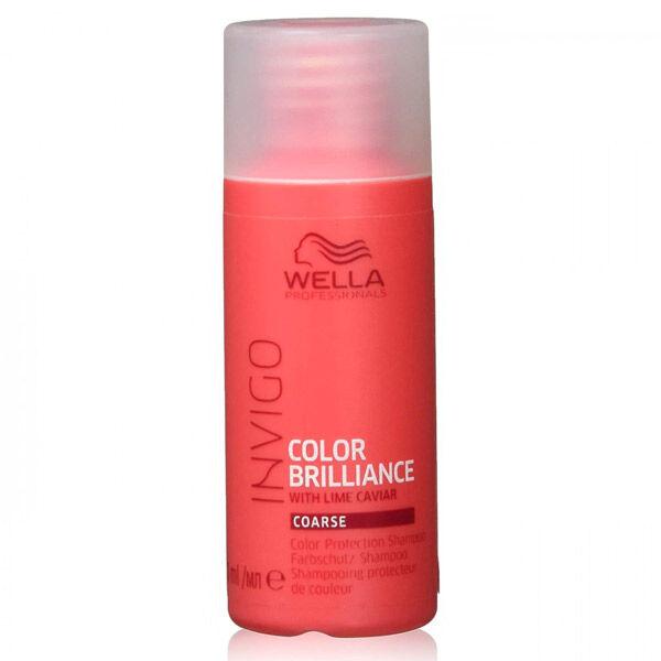 Wella Professionals Invigo Color Brillance Shampooing Cheveux Épais 50ml