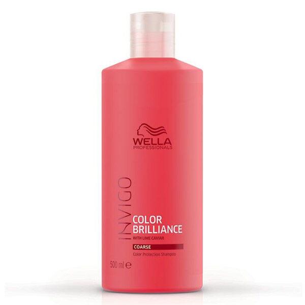 Wella Professionals Invigo Color Brillance Shampooing Cheveux Épais 500ml
