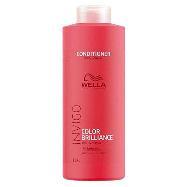 Wella Professionals Invigo Color Brillance Après Shampooing Cheveux Fins et Normaux 1L