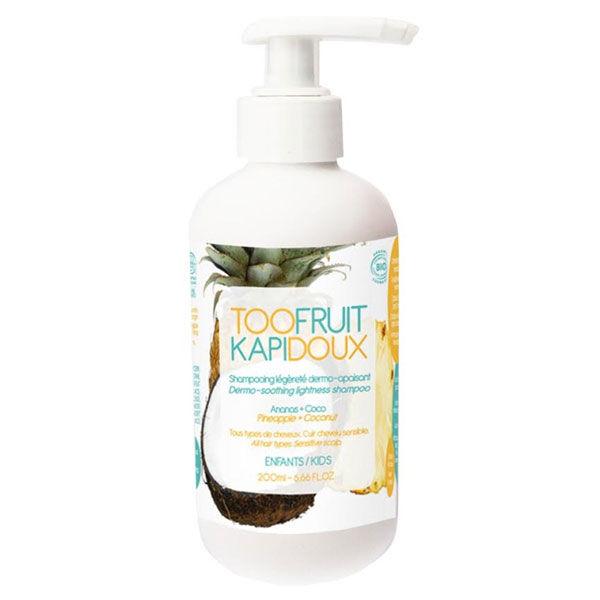 Toofruit Kapidoux Shampooing Ananas Coco Bio 200ml