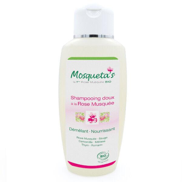 Mosqueta's Shampooing Doux à la Rose Musquée Bio 200ml